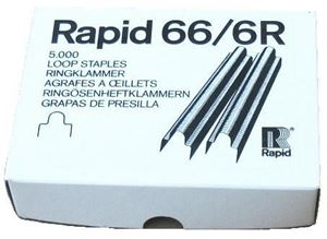 Picture of Staples 66/ 6 ring 5000/1 Rapid