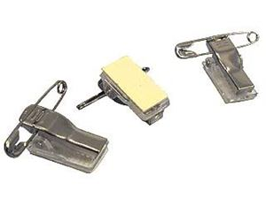 Picture of ID Clips adhesive with safety pin 100/1  Lamin8er