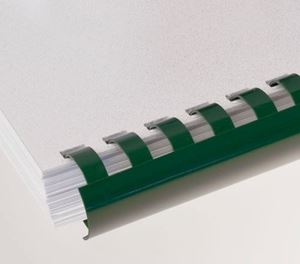 Picture of Plastic comb # 8 (A4) green 100/1 RENZ