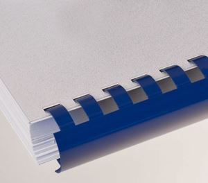 Picture of Plastic comb # 6 (A4) blue 100/1 Lamin8er