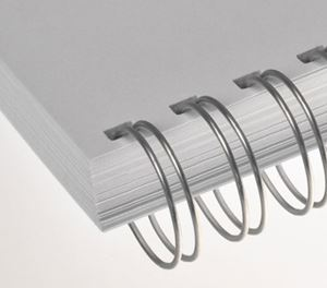 """Picture of Ring Wire comb (2:1) # 6.9 (1/4"""") silver NC A4 100/1 RENZ"""