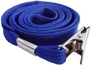 Picture of Lanyard with clip 10mmx90cm blue 50/1 Lamin8er