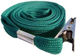 Picture of Lanyard with clip 10mmx90cm green 50/1 Lamin8er