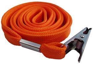 Picture of Lanyard with clip 10mmx90cm orange 50/1 Lamin8er