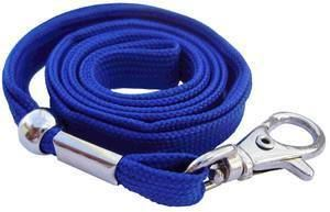 Picture of Lanyard with hook 10mmx90cm blue 50/1 Lamin8er