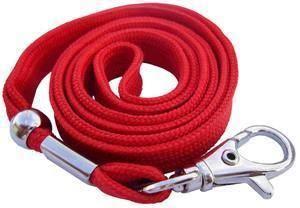 Picture of Lanyard with hook 10mmx90cm red 50/1 Lamin8er