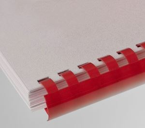 Picture of Plastic comb # 8 (A4) red 100/1 Lamin8er