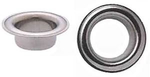 Picture of Eyelets SILVER plated 4,8x4,6mm Silver 250/1