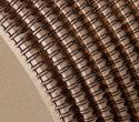 """Picture of Ring Wire comb spool (2:1) #28.6 (1 1/8"""") black 3.400 RS"""