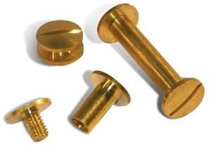 Picture of Screw brass 35mm 100/1