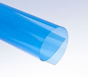 Picture of Binding covers A4 (0,20mm) transparent clear BLUE 0,20mm 100/1 RENZ