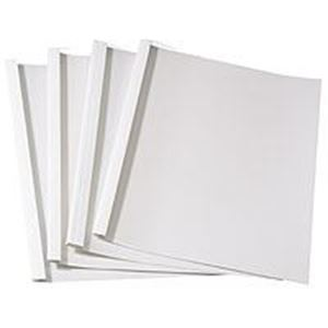 Picture of Thermal binding covers  3mm white 100/1