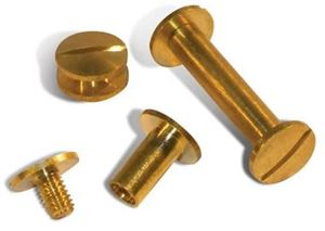 Picture of Screw brass 25mm 100/1