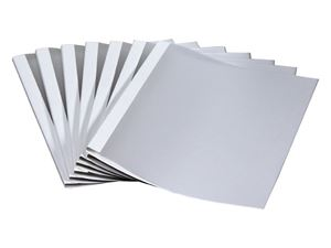 Picture of Thermal binding covers  4mm white 50/1