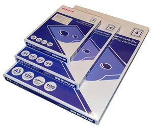 Picture of Laminating pouches A3 ( 80µ) 426x303 100/1 RENZ