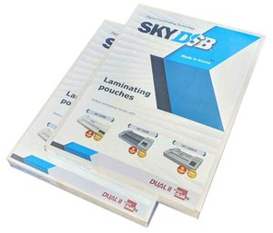 Picture of Laminating pouches A3 ( 80µ) 426X303 100/1 SATIN FINISH Superbond